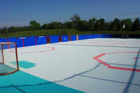 roller hockey flooring ourcozycatcottage