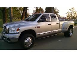 100 Dodge Dually Trucks For Sale 2008 Ram 3500 4x4 Dually For By Owner In Chula Vista CA 91921 25500