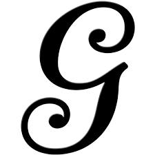 letter g black Google Search Crafts Pinterest