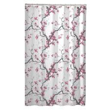 Cherry Blossom Curtain Panels by Shower Curtains Every Color U0026 Size Save Up To 72 Off Shop