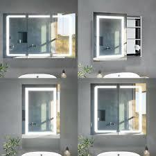 led spiegelschrank bad mit led beleuchtung steckdose