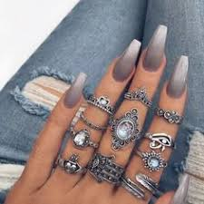 Greywhite ombré with glitter Best Nail Art Designs