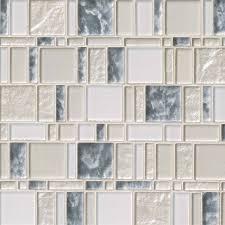chantilly stax versailles pattern glass mesh mounted mosaic tile