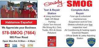 Brake And Lamp Inspection Test by Strikly Smog U0026 Auto Repairstar Certified Smog Station Brake And