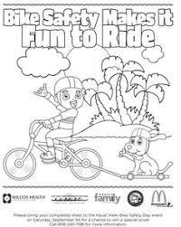 Bicycle Safety Coloring Pages 5 Free Printable Pagesprintable Picturescolouring