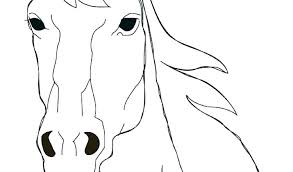 Horse Head Coloring Pages Page Printable And Jasmine On