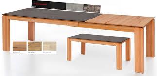 standard furniture manzano esstisch ausziehbar massiv mit