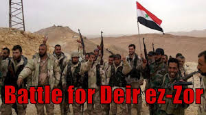 siege army syrian army on the verge of breaking siege on deir ez zor