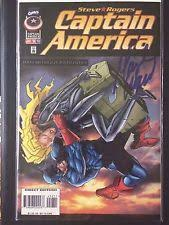 Captain America 452 Vol 1 1968 1996 Marvel Comic Signed By Mark