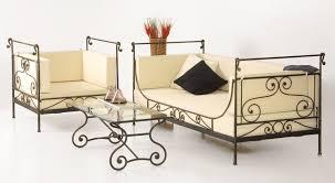 canapé fer forgé pipa fauteuil en fer forgé fauteuil salon