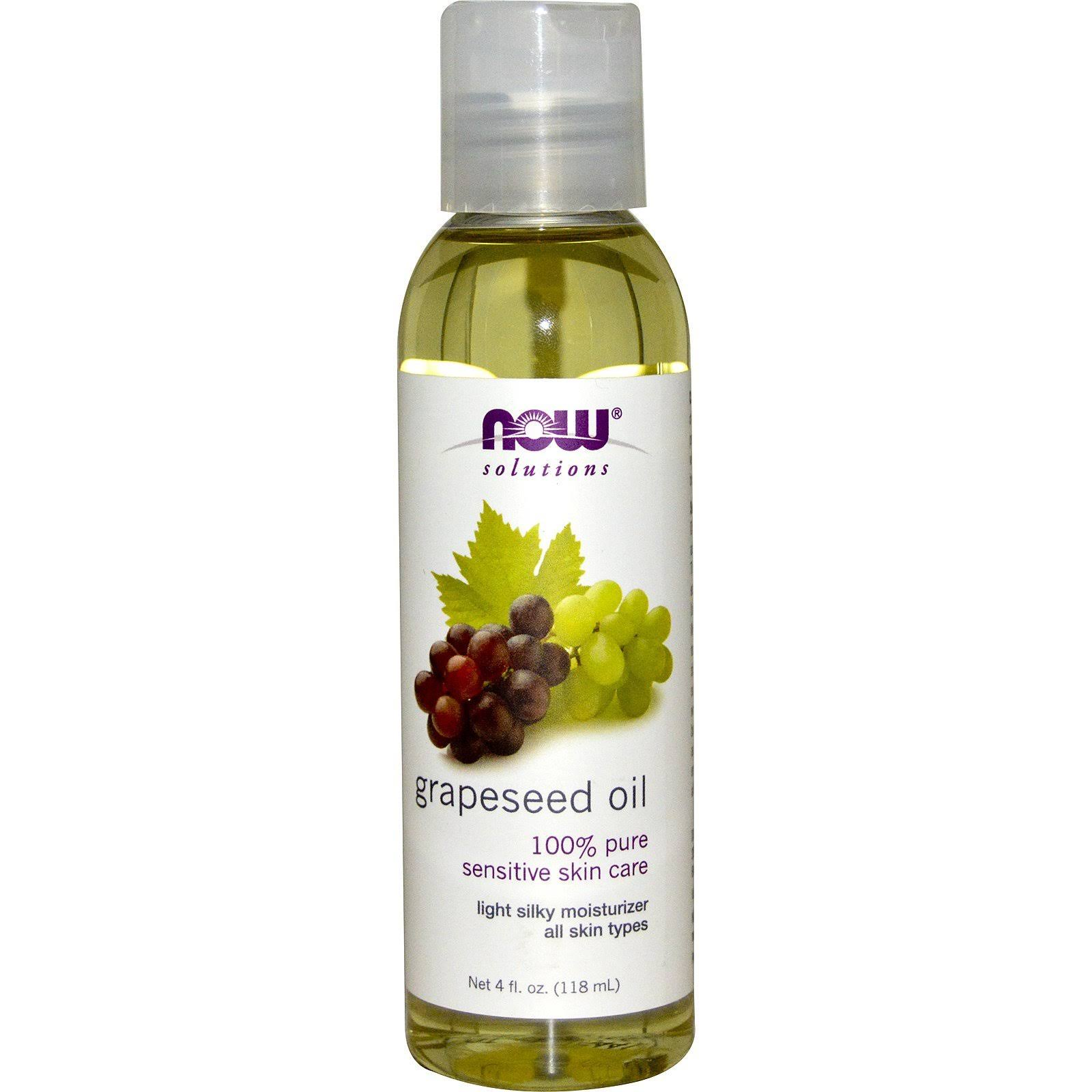 Now Foods Grape Seed Oil - 118ml