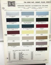 1966 Dodge R-M Color Paint Chips Selector Leaflet Codes Dart Coronet ... Best 2019 Dodge Truck Colors Overview And Price Car Review Ram 2017 Charger Dodge Truck Colors New 2018 Prices Cars Reviews Release Camp Wagon Original 1965 Vintage Color By Vintageadorama 1959 Dupont Sherman Williams Paint Chips 1960 Dart 1996 Black 3500 St Regular Cab Chassis Dump Ram 1500 Exterior Options Nissan Frontier Color Options 2015 Awesome Just Arrived Is Western Brown