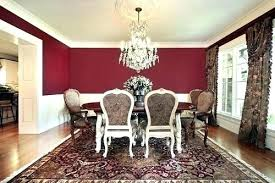 Dining Rooms With Red Walls And Gold Room