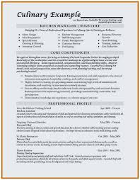 Sample Resume For Kitchen Staff Terrific Cook Examples 4 5 Chef Samples