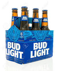 Winneconne WI 18 May 2016 Six Pack Bud Light With New