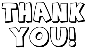 Thank you black and white thank you clip art black and white free clipart 2