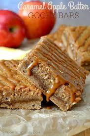 Caramel Apple Butter Gooey Bars