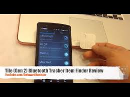 tile 2 bluetooth tracker item finder review