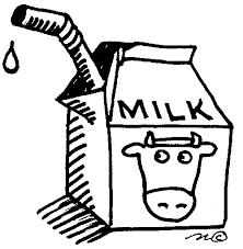 cartoon milk carton clipart
