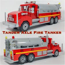 100 Lego Tanker Truck MOC Tandem Axle Fire Tanker Imgur