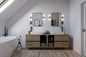 75 badezimmer mit laminat waschtisch ideen bilder april