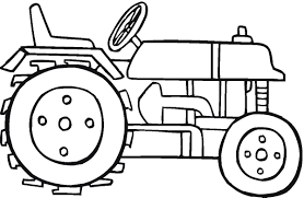 Tracteur Coloriage De Tracteur Gratuit à Imprimer Et Colorier
