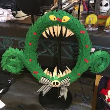 Nightmare Before Christmas Halloween Decorations by Disney Nightmare Before Christmas Wreath Popsugar Home