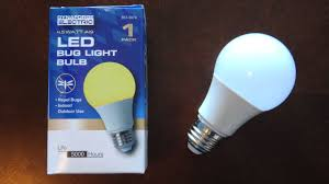 dynaforge electric yellow led bug light bulb