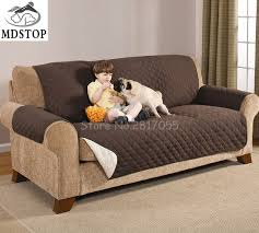 MDSTOP Three Seat Sofa Cover for Dogs Kid Nonslip Luxurious
