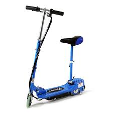 Blue Electric Scooter With Seat GBP10999
