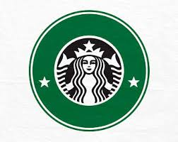 Coffee Logo SVG Starbucks File Cricut Cut Files Silhouette