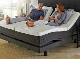 king size electric adjustable bed frame tempurpedic within decor 1