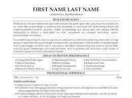 Real Estate Sales Resume Letsdeliver Co