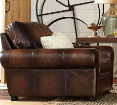 Pottery Barn Turner Sleeper Sofa by 73 Best Pb Leather Furniture Images On Pinterest Leather