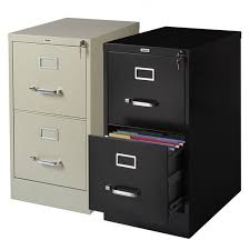 hirsh 22 inch deep 2 drawer letter size commercial vertical file
