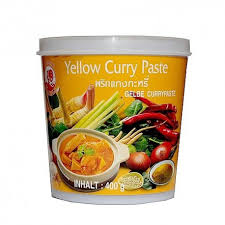 pâte de curry jaune 400 g par petit tang