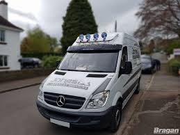 To Fit 2006 - 2014 Mercedes Sprinter Chrome Front Medium High Roof ...