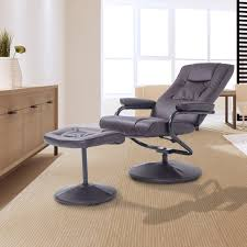 HOMCOM Recliner Armchair W/ Footstool-Brown | Aosom.co.uk Lgdon Modern Fabric Armchair With Matching Ftstool Grey Danish Brown Leather Lounge 1970s For Sale Lounge Chairs With Ftstools High Quality Designer Armchairs Contemporary Chairs Heals Cuba Rattan Or Black Fads Sofas Seating Graham Green Wood Dekor Stylish With Kashioricom Wooden Louis Styled Oak Frame Velvet Scp Balzac Oban Ashgate Fniture Co Bedrooms And Small Accent For Bedroom