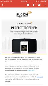 YMMV: 20% Off Sonos For Audible Subscribers - Check Your E ... Coupon Code Pbs Play Sunfrog Coupon December 2018 Zola Sonos Promo Code Sonos 25 Off Akg Promo Codes Top 2019 Coupons Promocodewatch Ymmv 20 Off Sonos For Audible Subscribers Check Your E Discount Massage Envy Yankee Coupons In Store 15 All Products After Creating A Fathers Sho Promo Auto Image East Brunswick Sale Competitors Revenue And Employees Owler Gift October Discounts Ebays Biggest Black Friday Deals Include Speakers Review Deals Offers