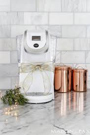 White Keurig And Other Beautiful Useful Christmas Gift Ideas Giftideas