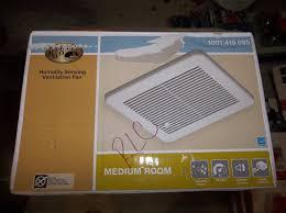 Humidity Sensing Bathroom Fan by Hampton Bay 80 Cfm No Cut Ceiling Humidity Sensing Bath Fan Ebay