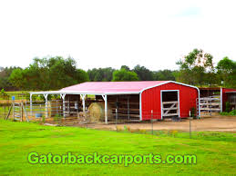 Gatorback CarPorts – Horse Stall Barns Metal Horse Barns Pole Carport Depot For Steel Buildings For Sale Buy Carports Online Our 30x 36 Gentlemans Barn With Two 10x Open Lean East Coast Packages X24 Post Framed Carport Outdoors Pinterest Ideas Horse Barns And Stalls Build A The Heartland 6stall 42x26 Garage Lean To Building By 42x 41 X 12 Top Quality Enclosed 75 Best Images On Custom Prices Utility