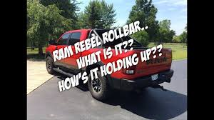 Ram Rebel Roll Bar.. What Is It? How's It Holding Up?? - YouTube