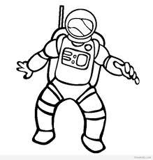 crayola astronaut coloring page