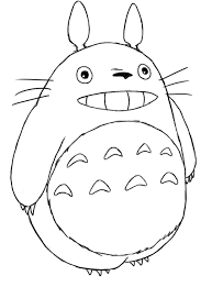 Doodles And Totoro Part 1 Colouring Pages Totoro Totoro
