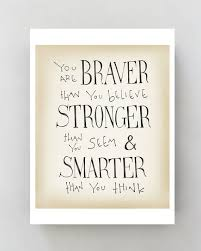 Inspirational Wall Art Canvas Winnie The Pooh Disney Movie Quote Poster Typographic Print Kids