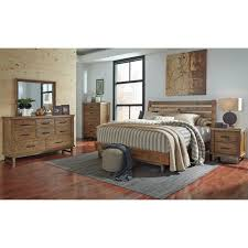 King Platform Bed With Fabric Headboard by Bedroom Find Your Dream Bed At Ashley Furniture Sleigh Bed