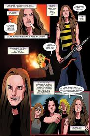 How Grotesque Can Metallica Look A New Comic Book Aims To Find Out