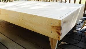 pdf plans twin size platform bed plans download wooden deck