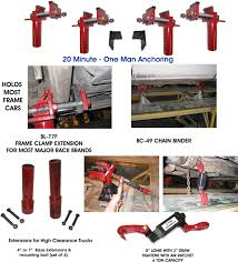 100 Clamp Truck Body Loc Ultra Loc Frame Anchoring System